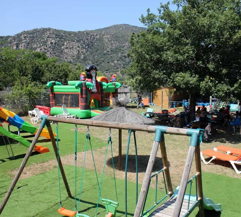 mini parc pour les plus jeunes
